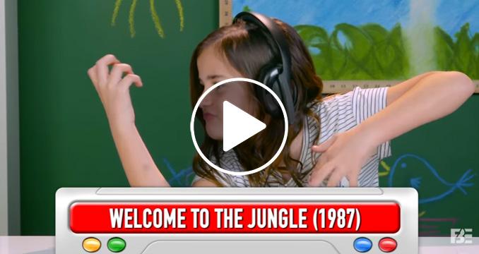 """Kids React to Guns N' Roses"": Seht hier das sensationell lustige Video!"