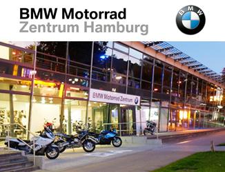 Erfahrt mehr über das BMW Motorrad Zentrum Hamburg >