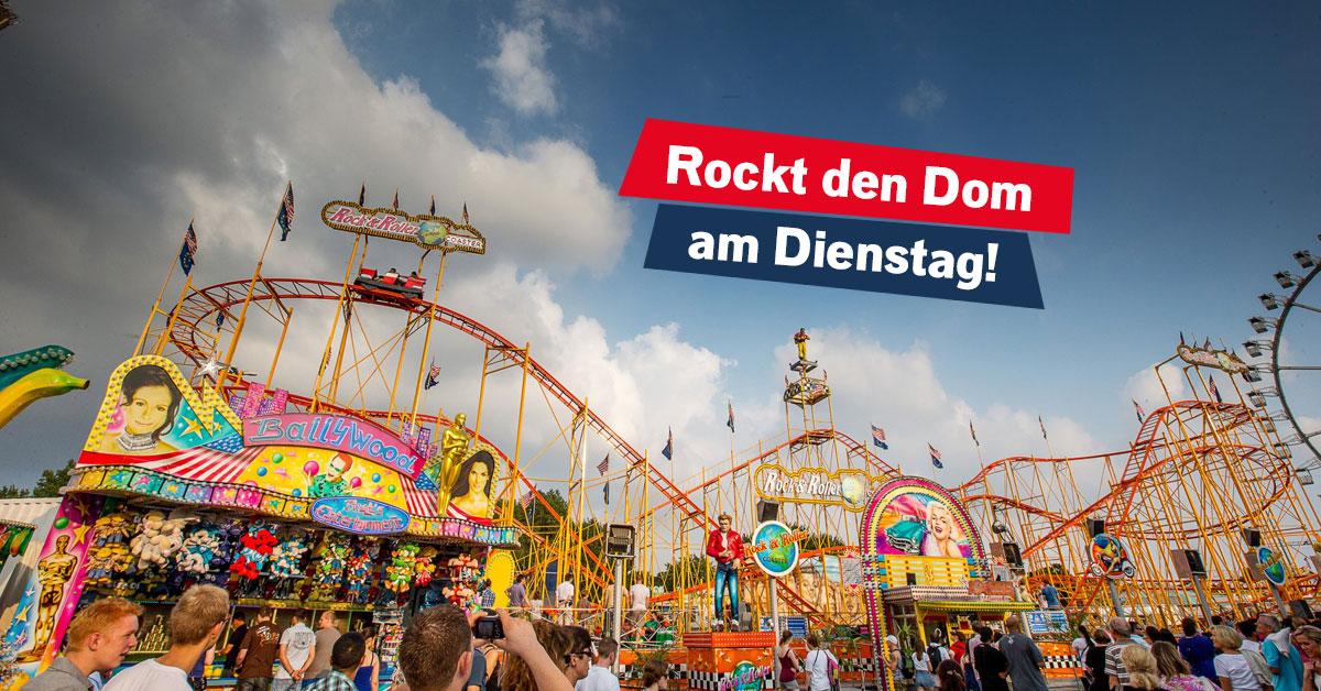 Rock & Rollercoaster: Geht mit uns auf rockende Achterbahnfahrt!