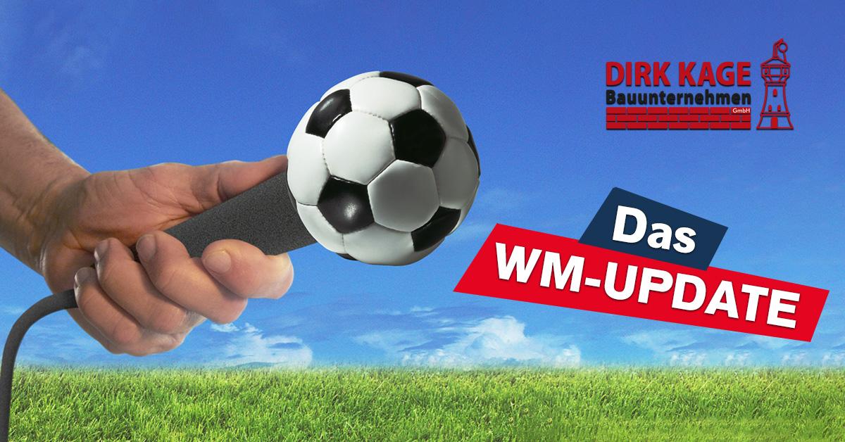 Das WM-Update auf ROCK ANTENNE Hamburg - präsentiert von Kagebau!