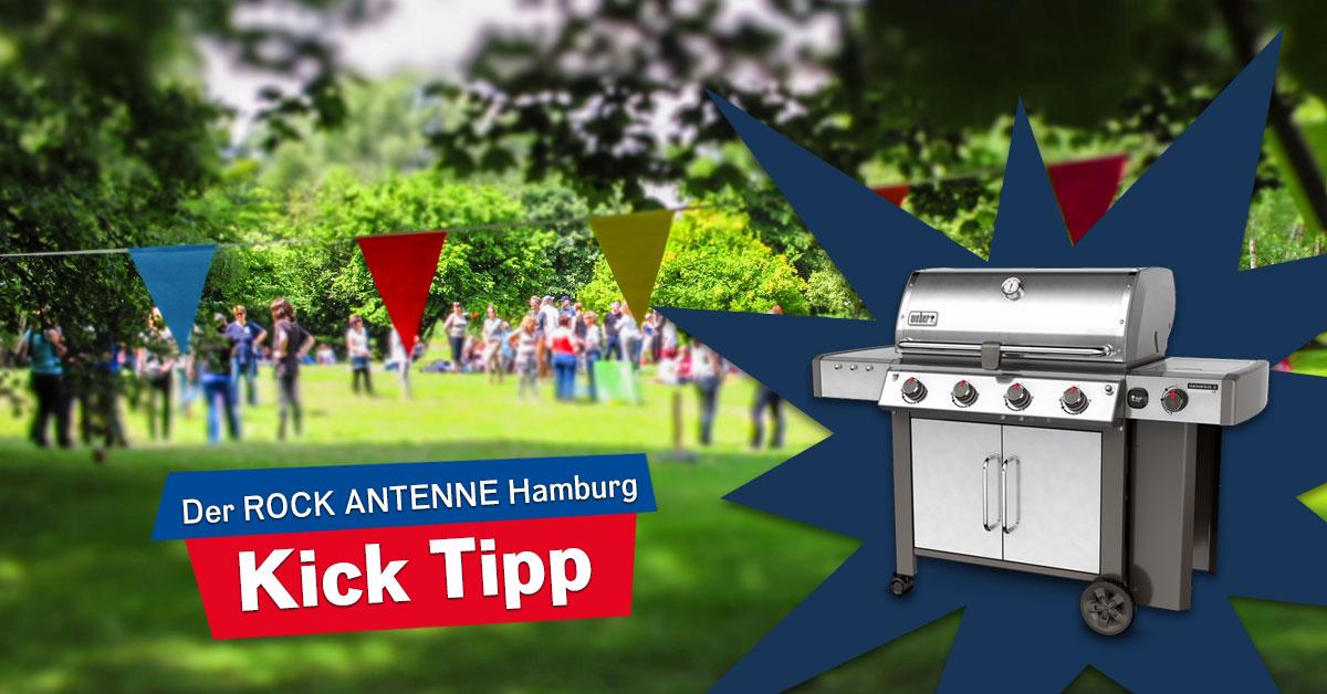 Ein neuer Weber Grill für lau: Die WM rockt mit ROCK ANTENNE Hamburg!
