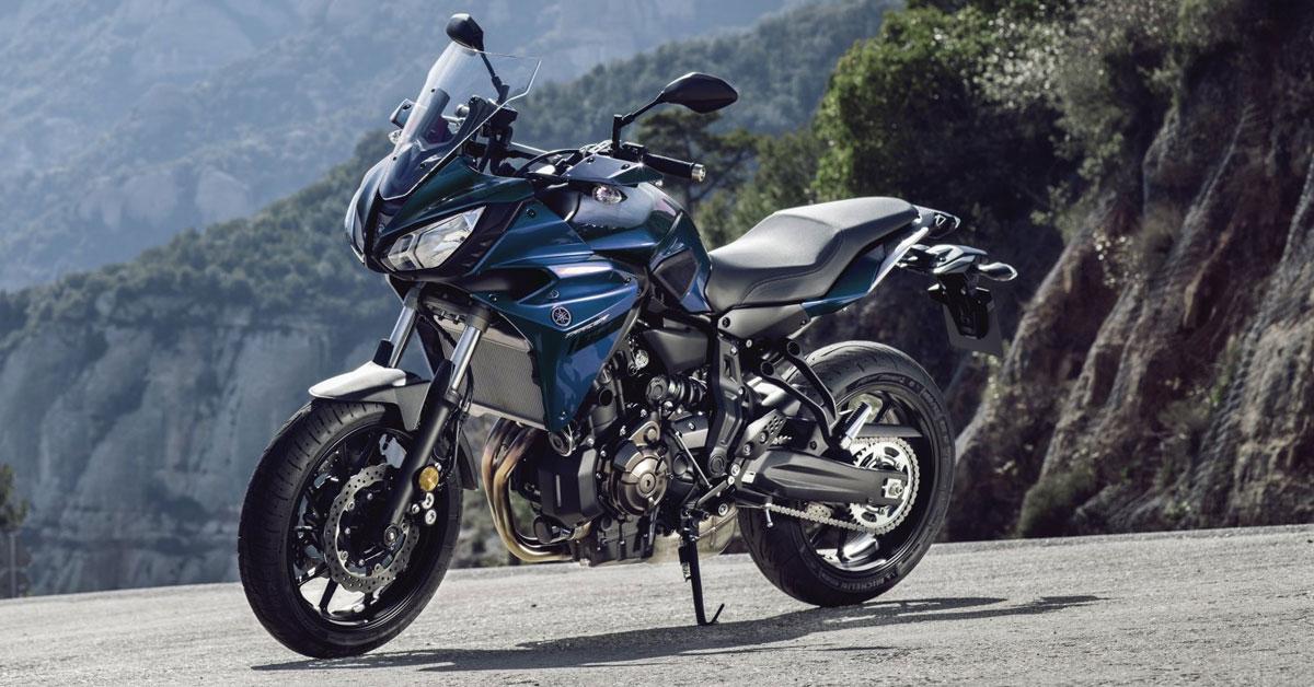 Mit viel PS zum Motorrad-Gottesdienst: Holt euch die Yamaha Tracer 700!