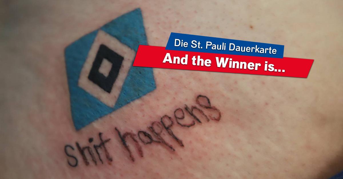 Wer bekommt unsere FC St. Pauli Dauerkarte?