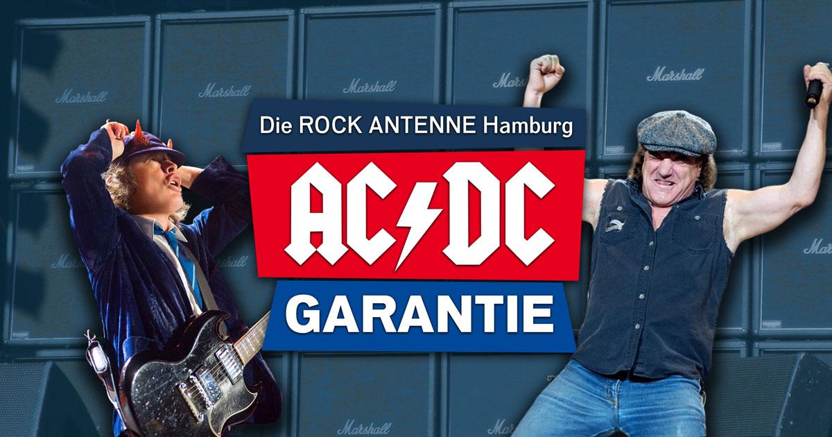 Die AC/DC Garantie in der ROCK ANTENNE Hamburg Frühschicht
