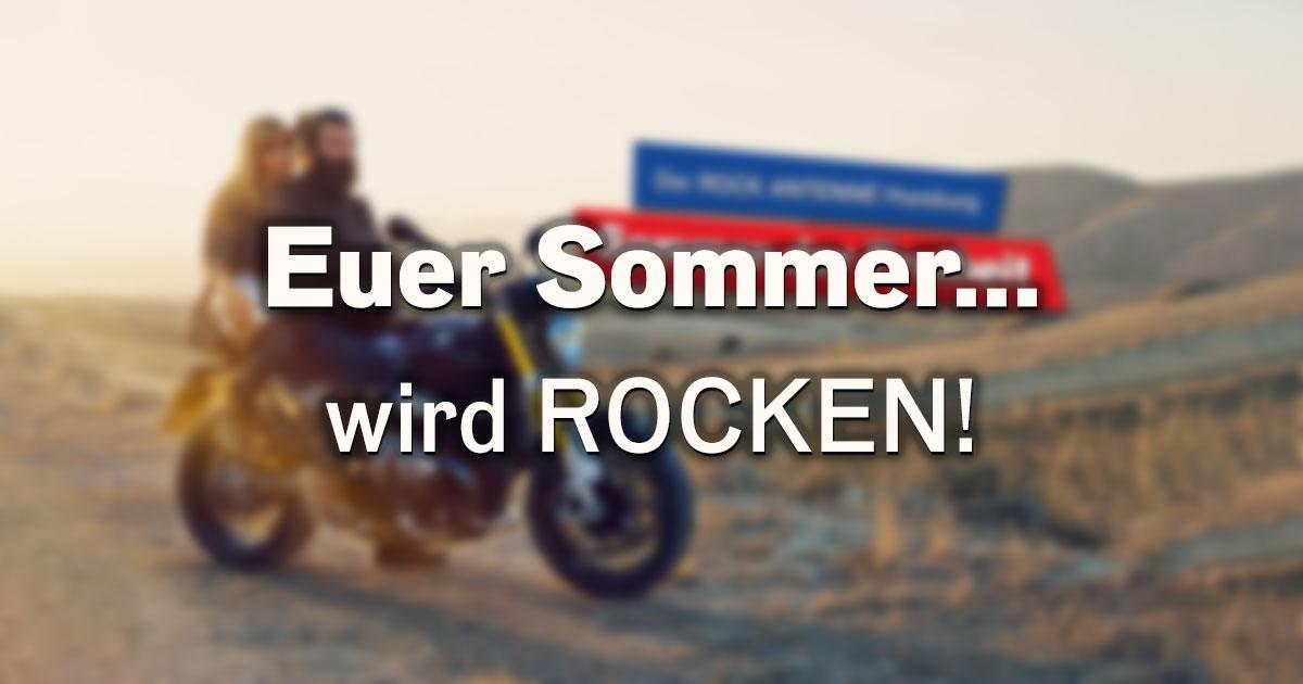 Der ROCK ANTENNE Hamburg Sommer der Freiheit!