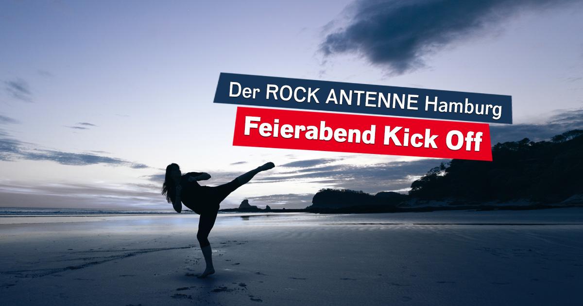 Der ROCK ANTENNE Hamburg Feierabend Kick Off!