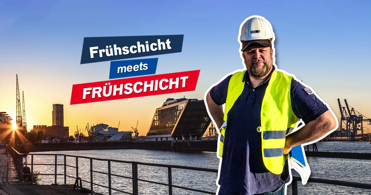 Frühschicht meets Frühschicht: Der frühe Vogel rockt!