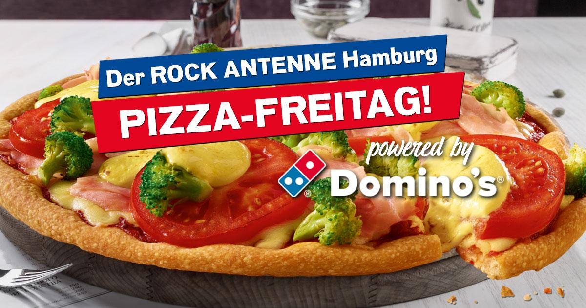 Anmelden und genießen: Der ROCK ANTENNE Hamburg Pizza-Freitag!