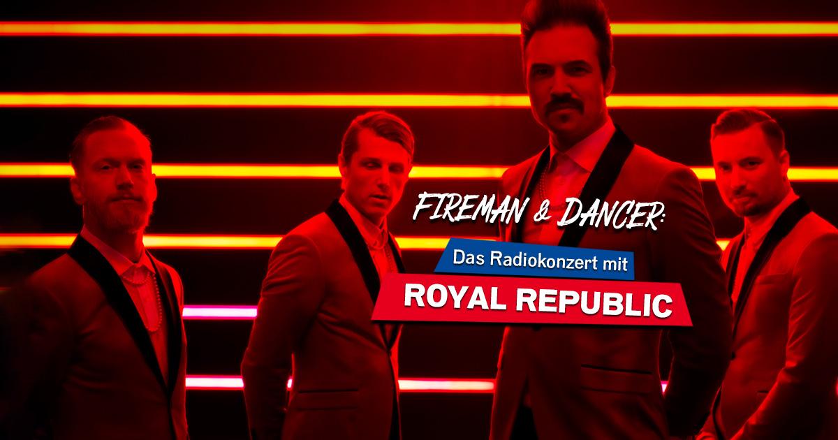 Royal Republic live im Club: Holt euch Tickets für unser exklusives Radiokonzert!