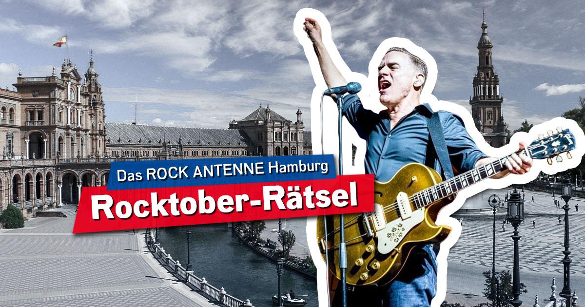 Das Rocktober-Rätsel: Rockt mit uns rund um die Welt!