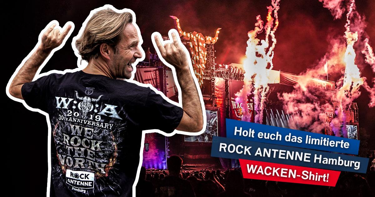 We rock the North: Newsletter abonnieren und exklusives Wacken-Shirt sichern!