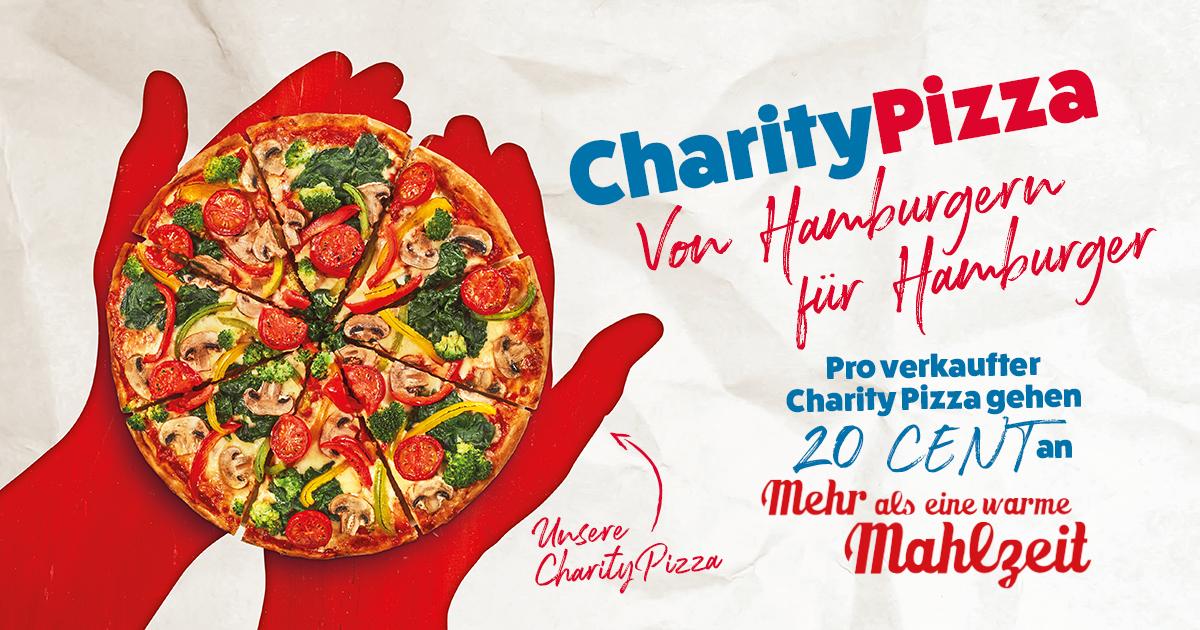 Mehr als eine warme Mahlzeit 2020: Holt euch die Charity Pizza bei Domino's!