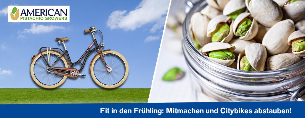Fit in den Frühling: Wir schenken euch Citybikes von BERGAMONT!