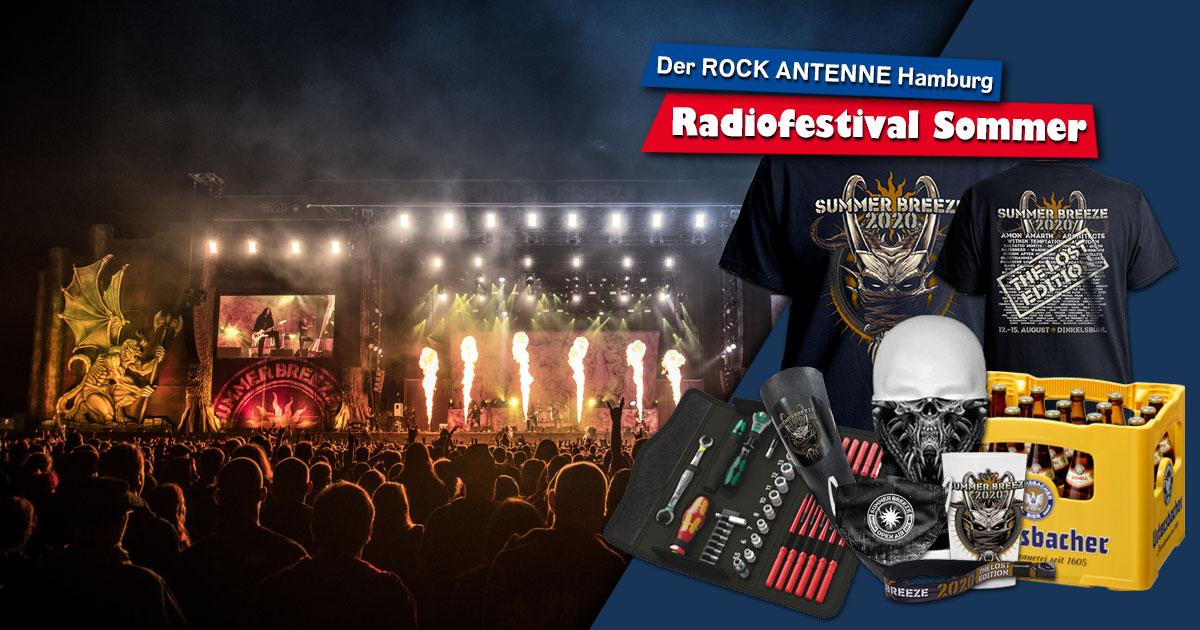 SUMMER BREEZE im Radio-Edit: Holt euch unser Festival-Package!