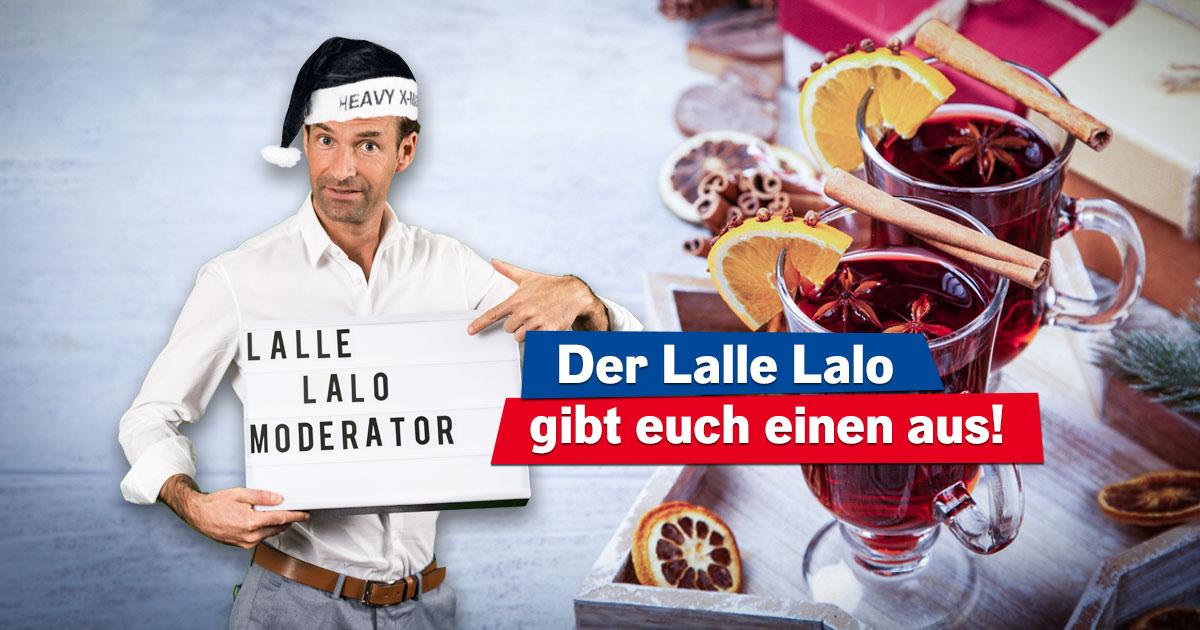 Weihnachtsmarkt@Home: Hört den Lalle-Lalo und sichert euch ein Care-Paket!
