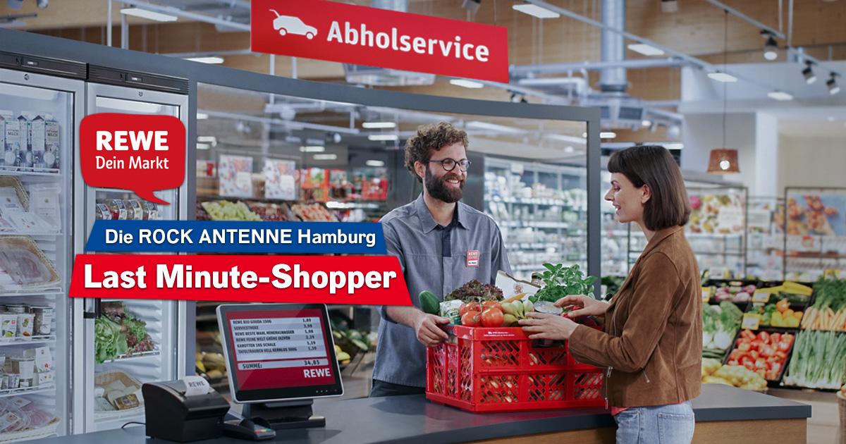 Last Minute-Shopper: Mitmachen und REWE Abholservice Gutscheine abstauben!
