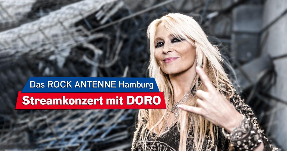 DORO Live im Stream: Seht hier noch einmal das ROCK ANTENNE Hamburg Streamkonzert!