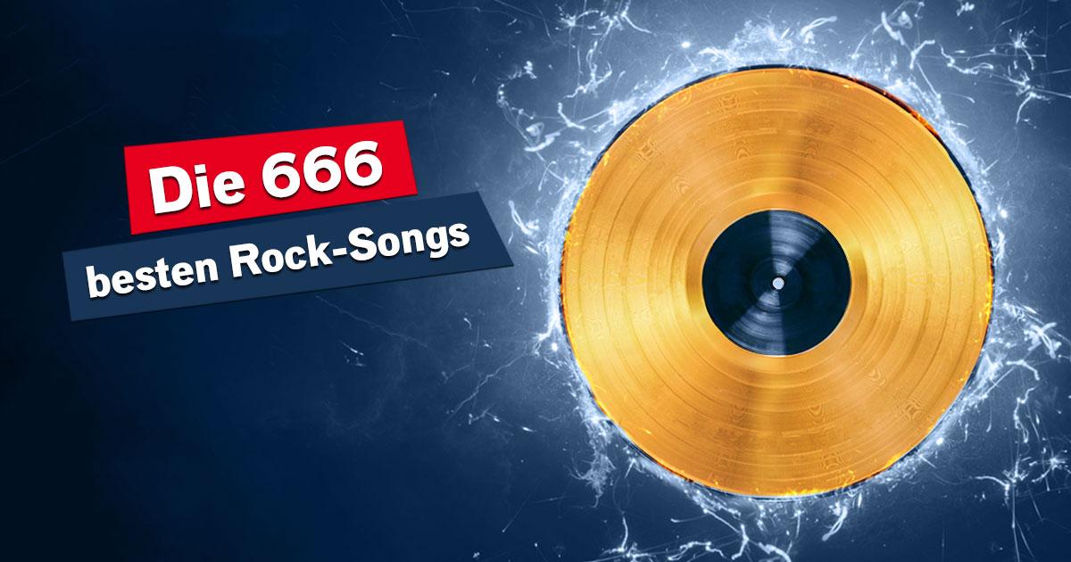 Eure 666 besten Rock-Songs: Alle Plätze zum Nachlesen!