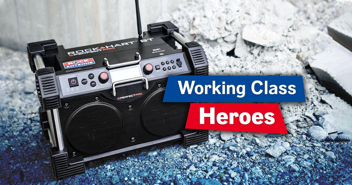 Hamburgs rockendste Baustelle: Bewerben und fettes DAB+ Radio von PerfectPro abstauben!