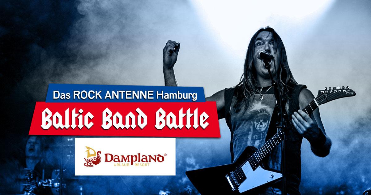 23. und 24.07.2021: Das ROCK ANTENNE Hamburg Baltic Band Battle 2021 - der Bandcontest im Dampland!
