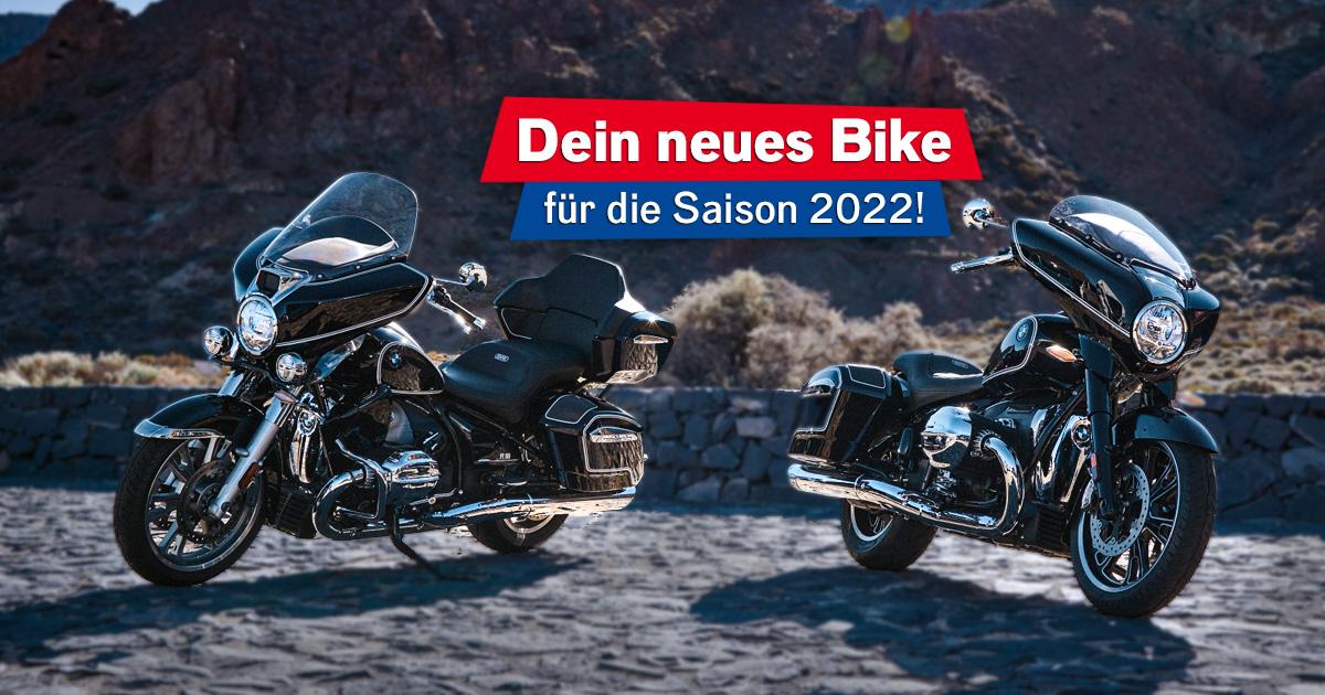 Ride Like the Wind: Wir schenken euch eine BMW R 18 für die Motorradsaison 2022!