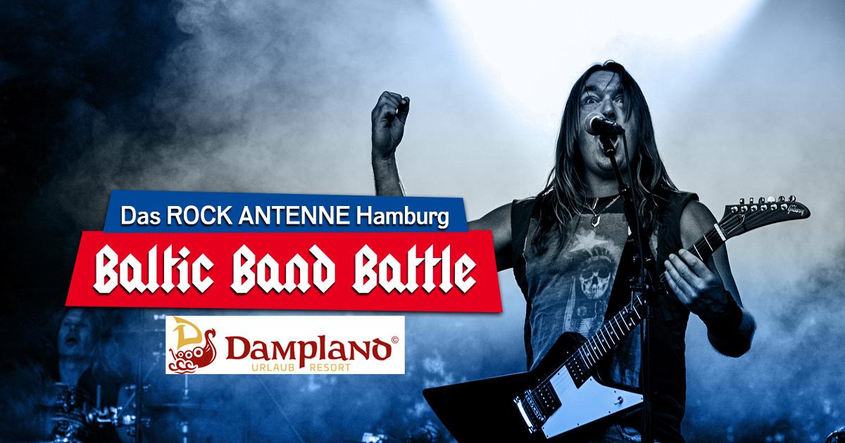 ROCK ANTENNE Hamburg Baltic Band Battle 2021: Jetzt bewerben für den Bandcontest im Dampland!