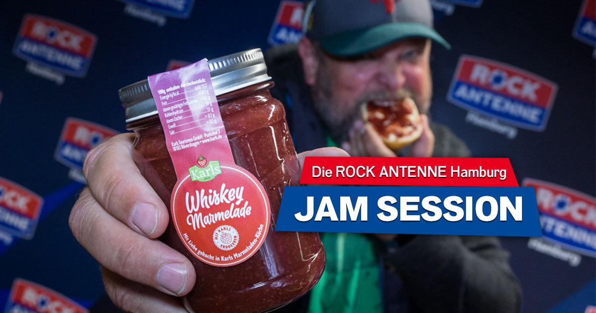 Die ROCK ANTENNE Hamburg Jam Session: Holt euch die härteste Marmelade der Stadt!