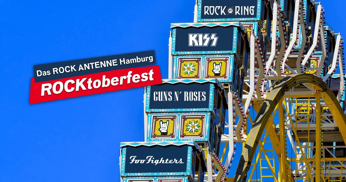Das ROCKtoberfest: Holt euch täglich tolle Konzerttickets für 2022!