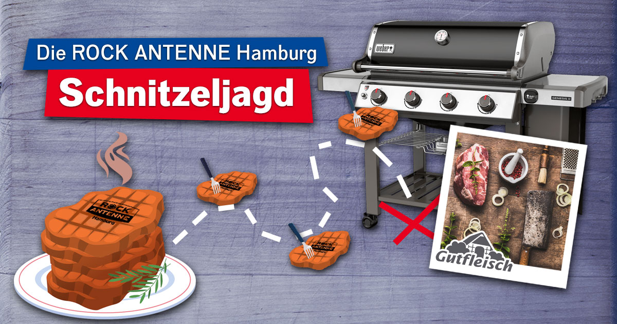 Die ROCK ANTENNE Hamburg Schnitzeljagd