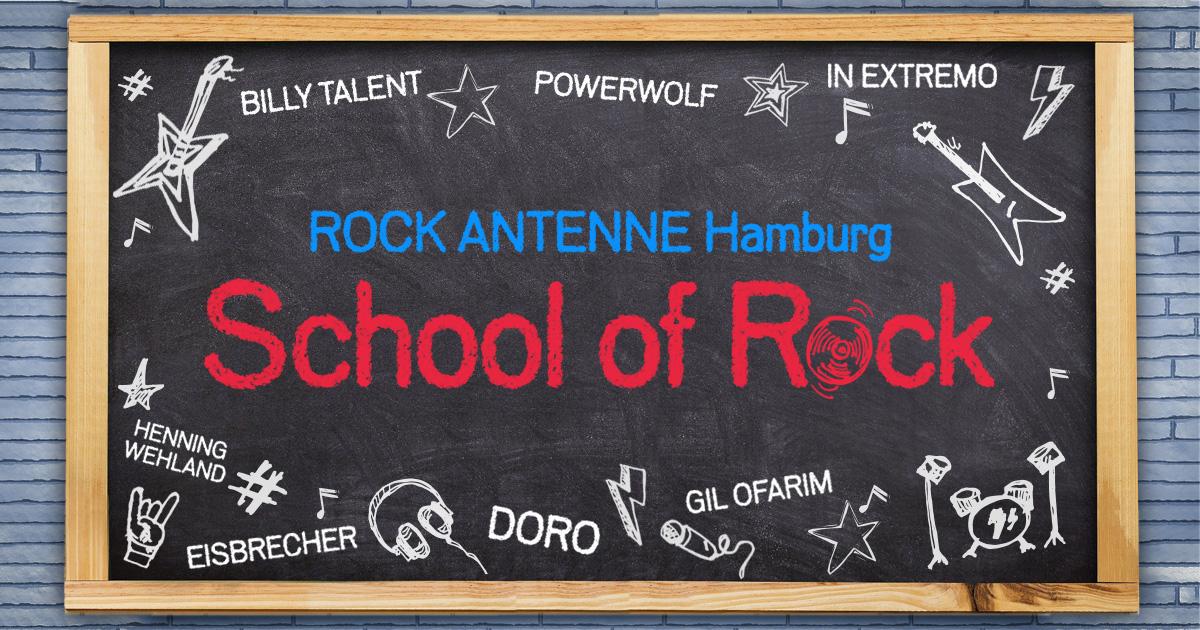 School of Rock: Werdet Hamburgs rockigste Schulklasse und performt mit eurem Lieblings-Rockstar!