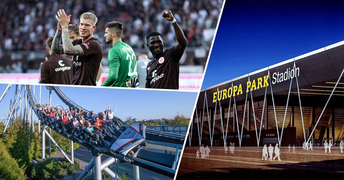 Fußball & Freizeitpark: Erlebt den FC St. Pauli im neuen Europa-Park Stadion!