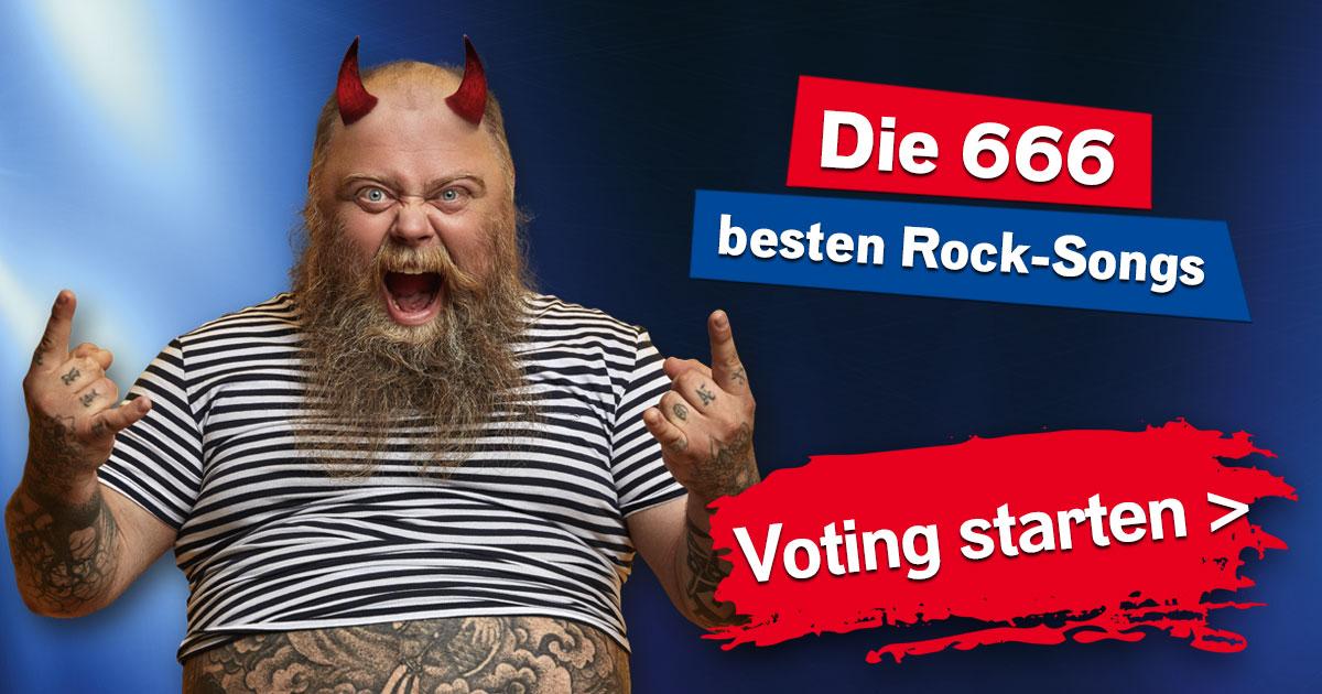 Die 666 besten Rock-Songs: Eure höllisch heiße Hitparade!