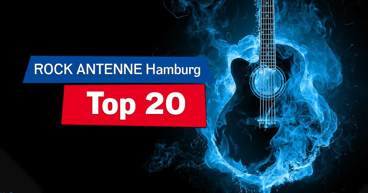 ROCK ANTENNE Hamburg Top 20: Mitvoten & immer sonntags Radio an!