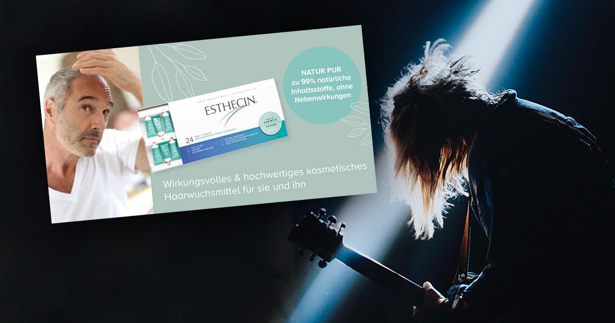 Damit Papa wieder moschen kann: Mit dem Premium Haarwuchsmittel Esthecin machen wirs möglich!