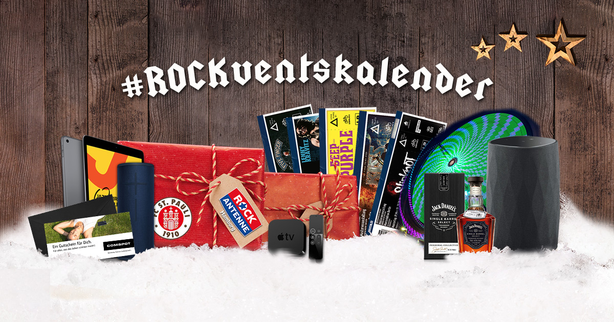 Der ROCK ANTENNE Hamburg Adventskalender 2019
