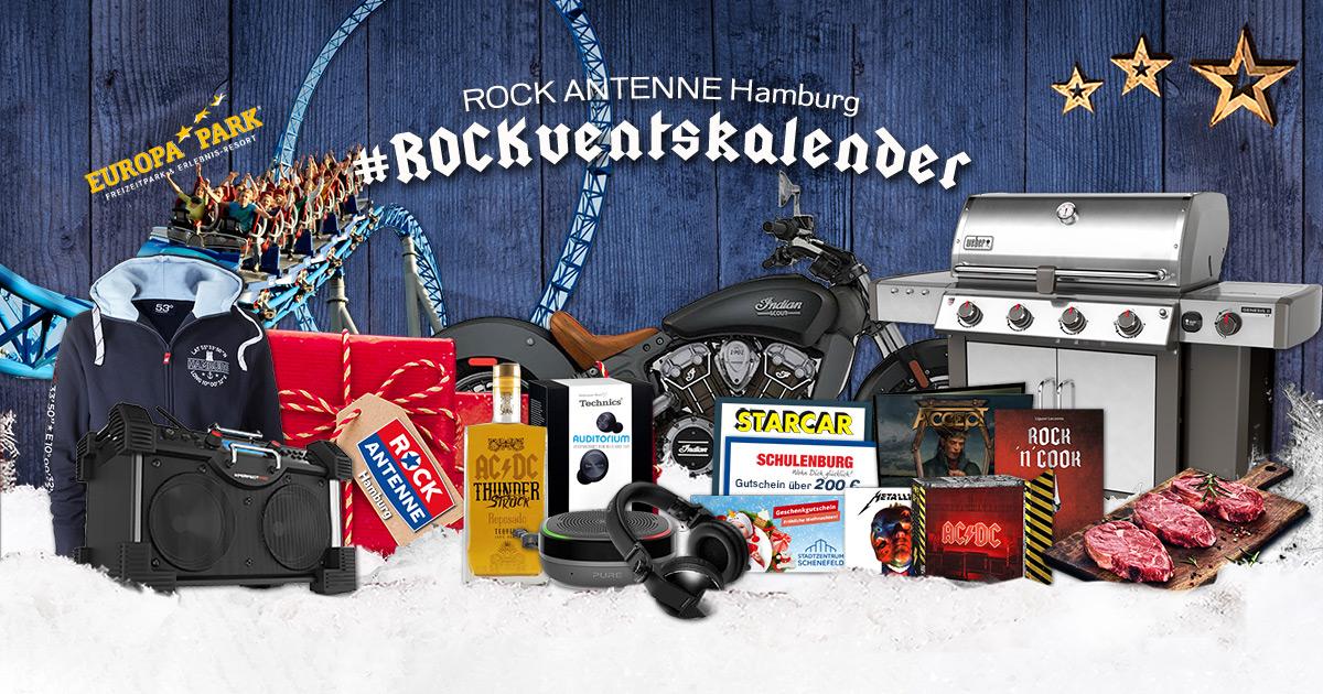 Der ROCK ANTENNE Hamburg Adventskalender 2020