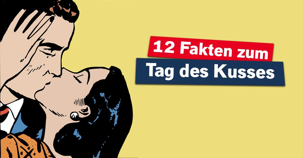 Suck My Kiss: 12 Fakten übers Küssen