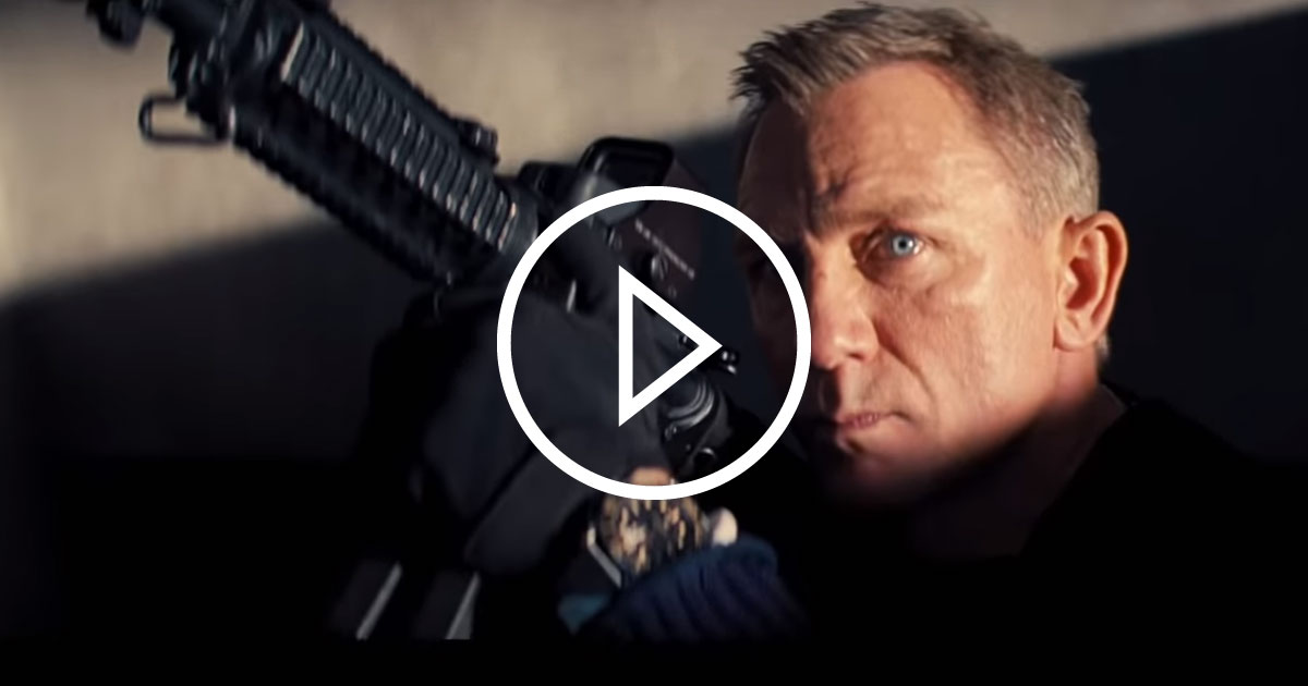 """James Bond: Der erste Trailer zum neuen Film """"Keine Zeit zu sterben"""""""