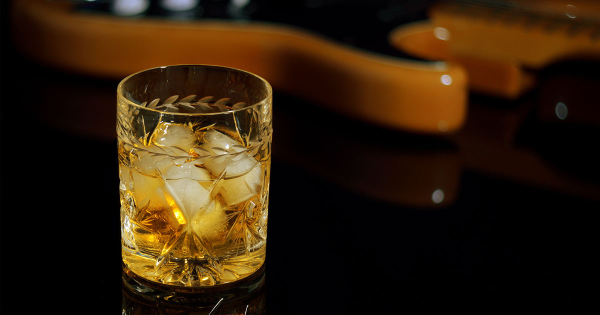 On the Rocks and Roll: Diese Musiker brennen ihren Whisky