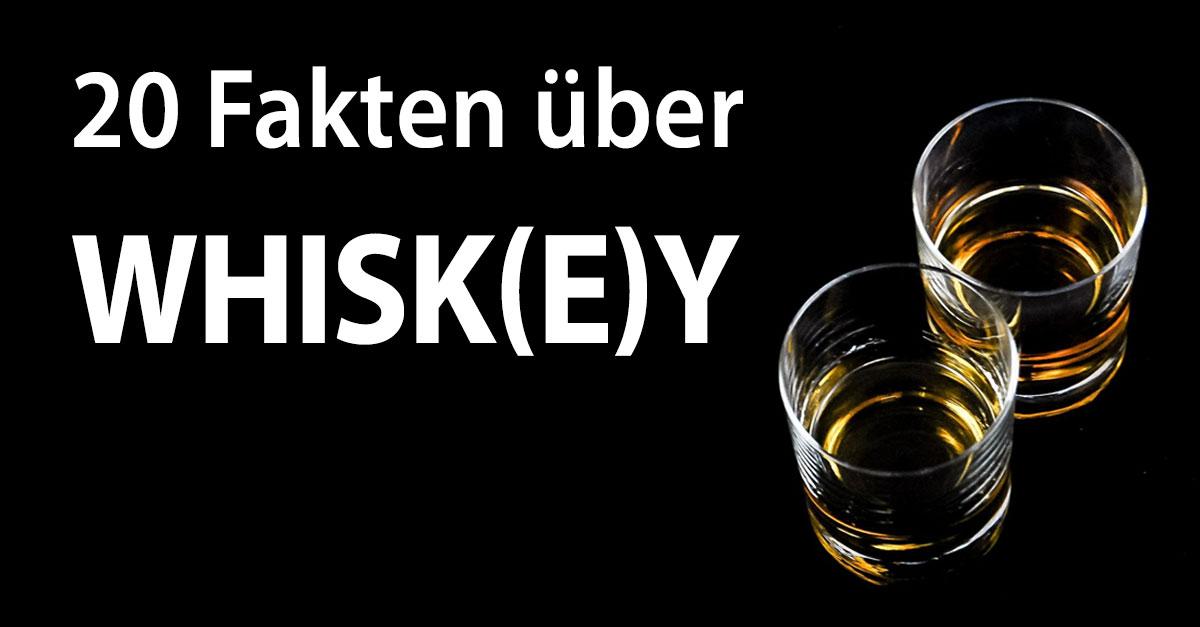 An die Bar: 20 Fakten über Whiskey zum Angeben