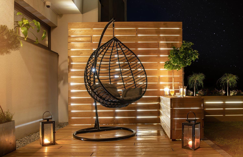 Moderne Gartenbeleuchtung: Einfach, preiswert, sparsam den Sommer rocken