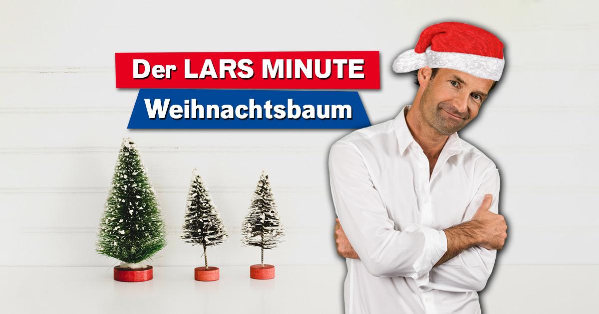 lars minute weihnachtsbaum holt euch euren baum f rs fest. Black Bedroom Furniture Sets. Home Design Ideas