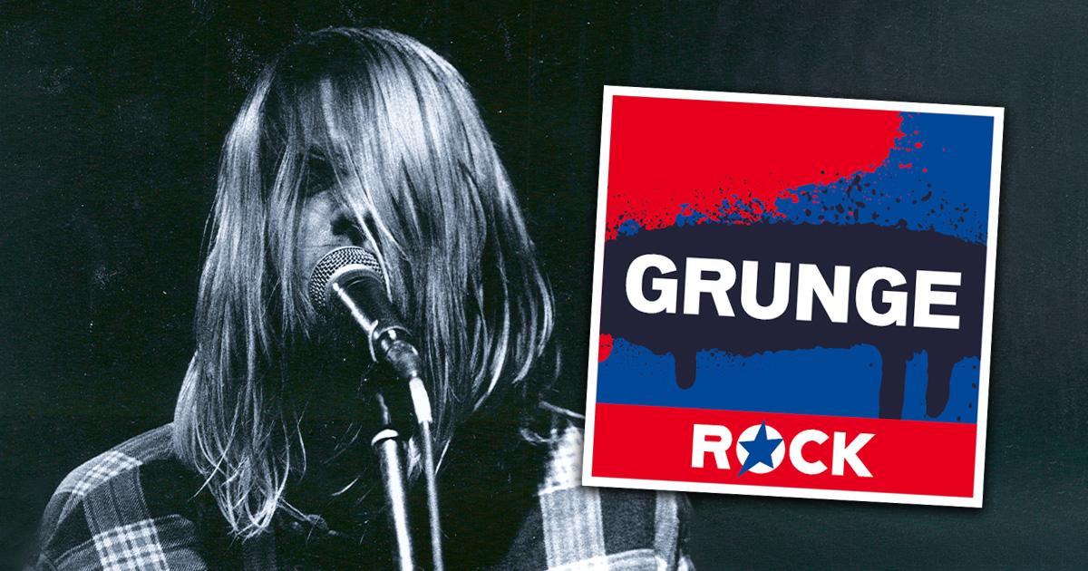 Zum Todestag von Kurt Cobain - neu in den ROCK ANTENNE Hamburg Streams: Grunge