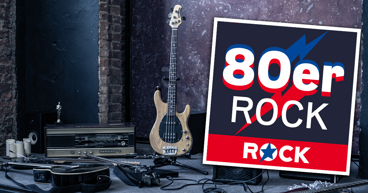Neu in den ROCK ANTENNE Hamburg Streams: 80er ROCK!