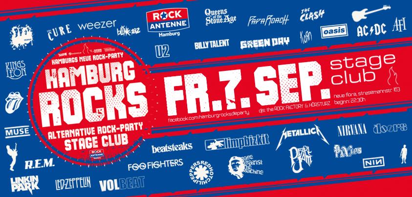 HAMBURG ROCKS - die neue Alternative Party