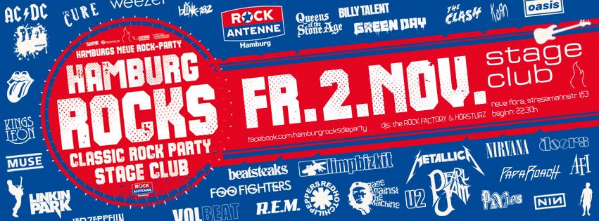 HAMBURG ROCKS - die neue Rock-Party