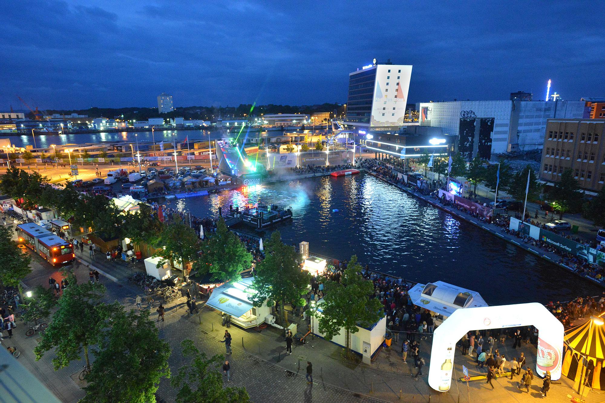 16. - 24. Juni: Die Kieler Woche - präsentiert von ROCK ANTENNE Hamburg