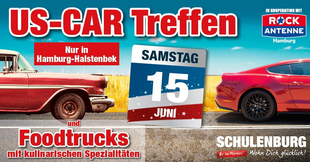 15062019 Us Car Treffen Bei Möbel Schulenburg In Halstenbek