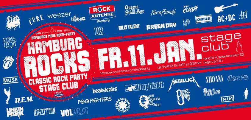 11.01.2019: HAMBURG ROCKS - präsentiert von ROCK ANTENNE Hamburg