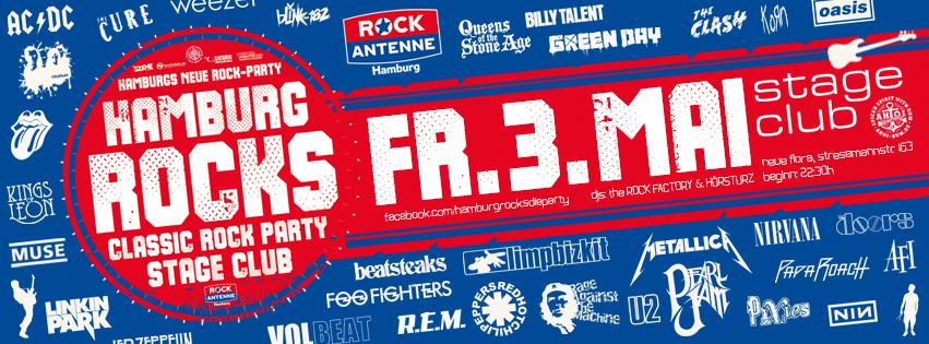 HAMBURG ROCKS - die nächste Rock-Party am 03.05.2019!